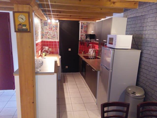 Appartement climatisé avec garage sécurisé