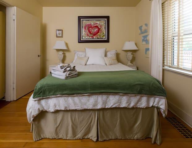 Upstairs Queen Size Master bedroom