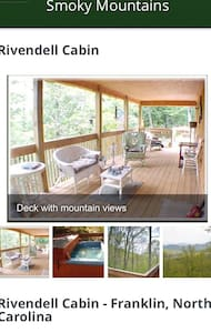 Rivendell; secluded, great view, hot tub, pets ok - Franklin - Casa