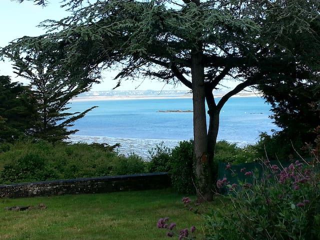 Maison plein soleil sur la  mer - Lancieux - Casa