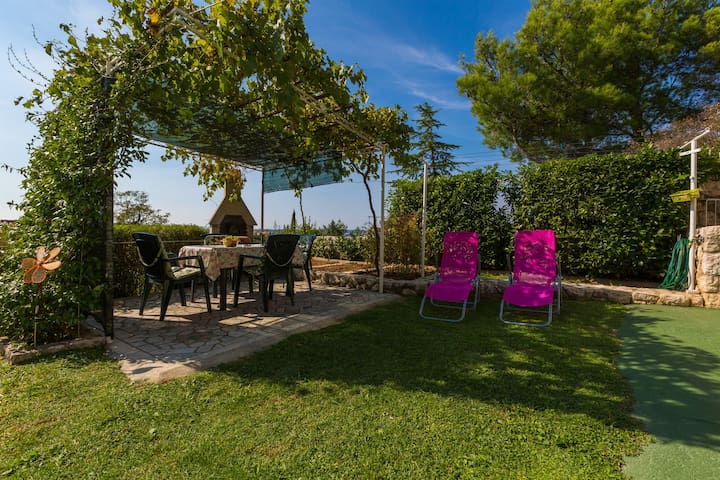 One bedroom Apartment, seaside in Dramalj (Crikvenica), Terrace