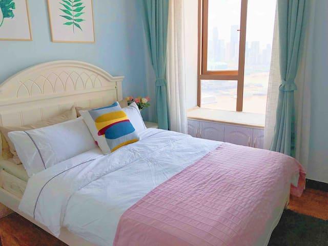 床上用品全部都是采用的宜家的床品~给您最舒适的睡眠体验~