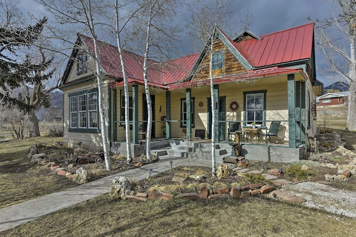 New! Historic 3BR Midway House- Mins to Park City!