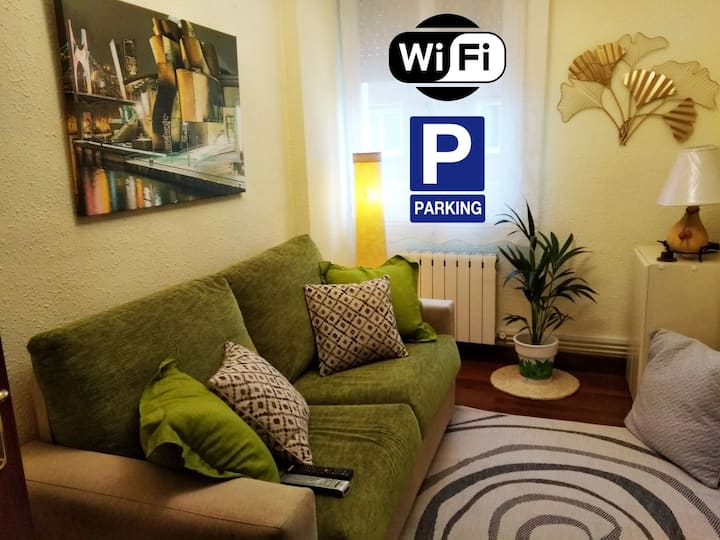 CENTRAL ROOM, WIFI, PARKING
