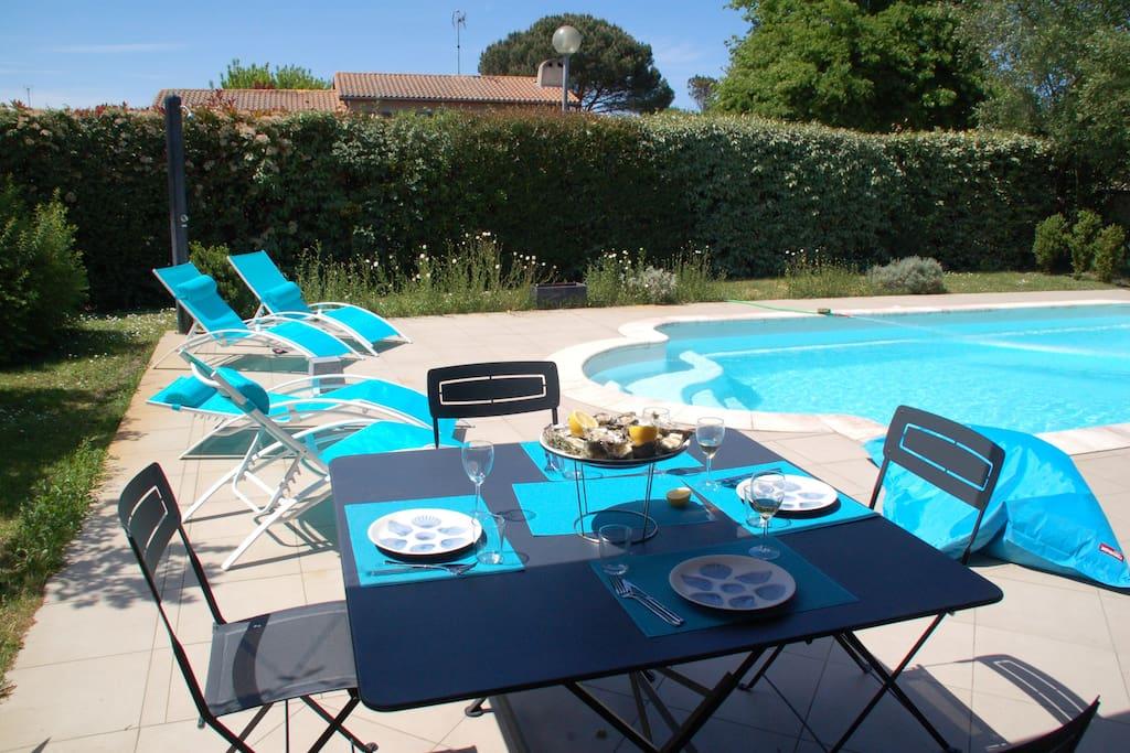 Villa 140 m2 pour 6 personnes avec piscine houses for for Cash piscine la teste