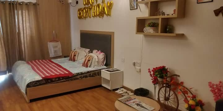 Fully furnished self catering Studio amazing stay