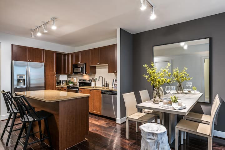 Entire apartment for you | 2BR in Arlington