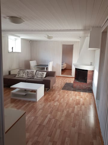 Big family friendly apartment with private parking