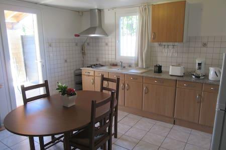Petit logement au coeur de la vallée  du Rhône.