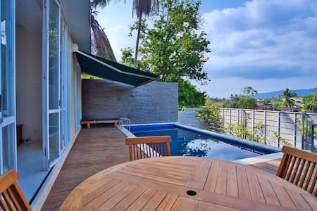 River view Villa Lombok with Private Pool