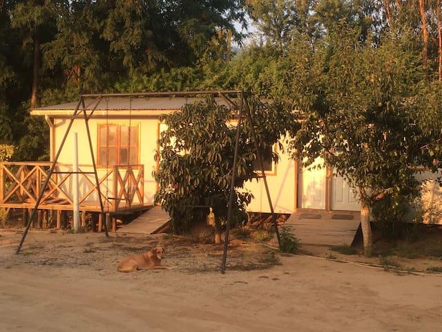 Cabaña independiente + piscina - Olmue