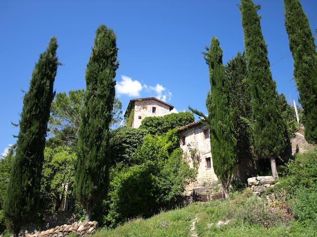 Landgut für 15 Pers. in Panoramalage bei Spoleto