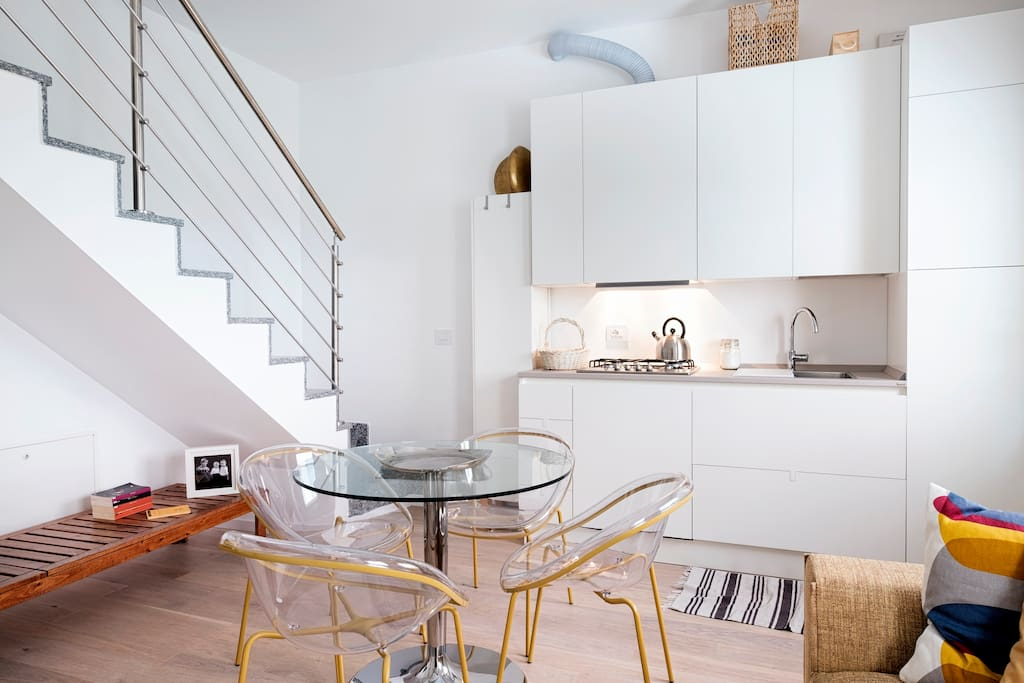 Living room & kitchen - first floor