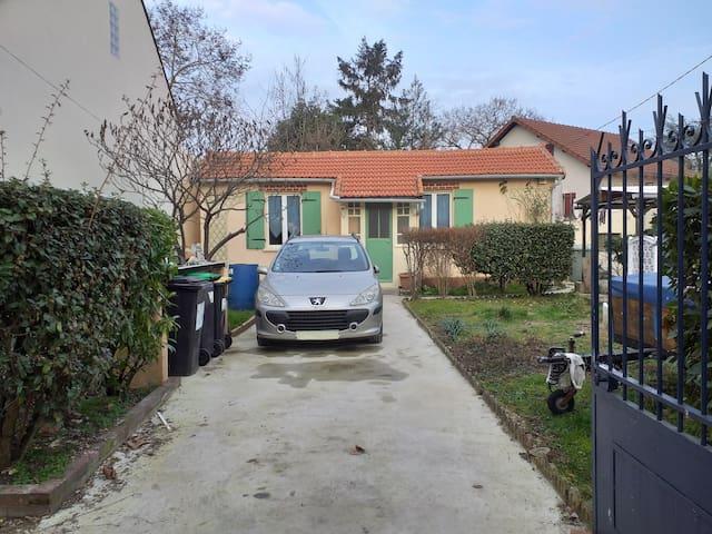 maison 4 personnes 20 minutes au sud de paris