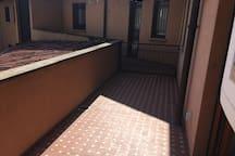 balcone della camera