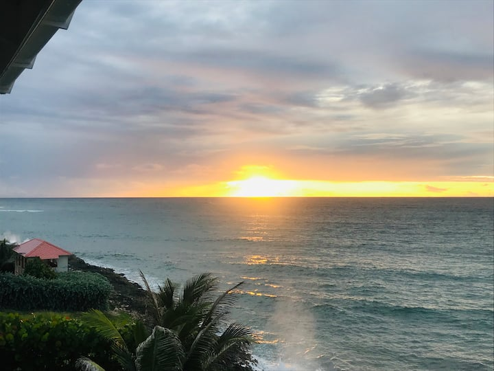 Stunning Ocean Front Villa in Tranquil Location