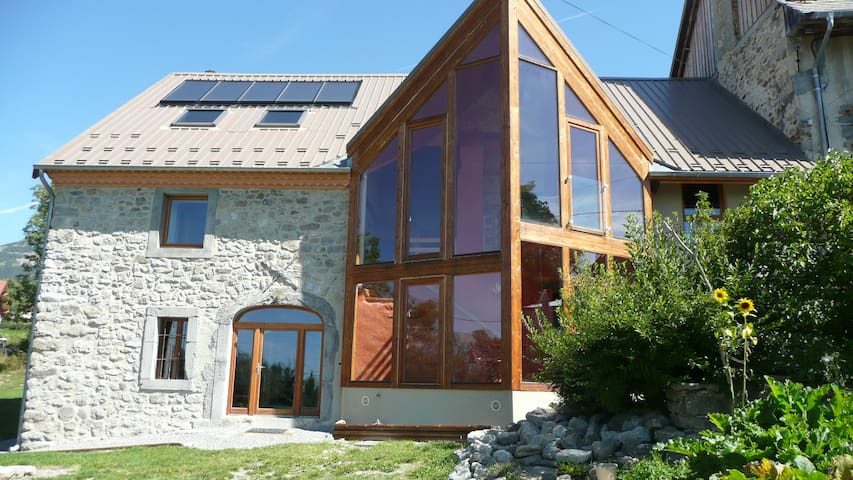 Chambre dans les Hautes-Alpes - Saint-Julien-en-Champsaur - Bed & Breakfast