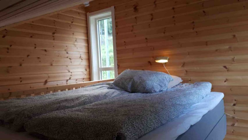 Bedroom loft, soverom/loft med dobbeltseng