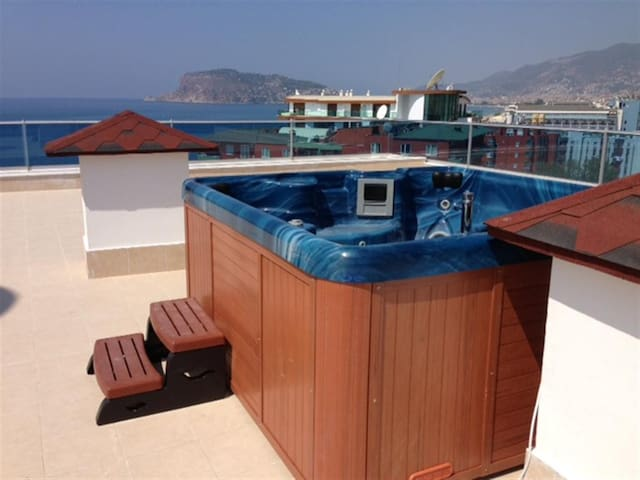 AQUA DIAMOND RESIDENCE NR-8 - Alanya - Apartment