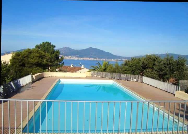 Studio in Porticcio mit Pool und Terrasse