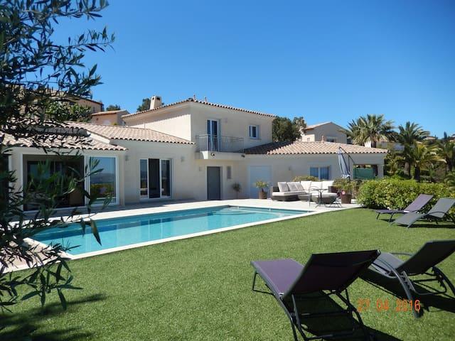 Villa panoramic sea view swimming - Fréjus - Villa