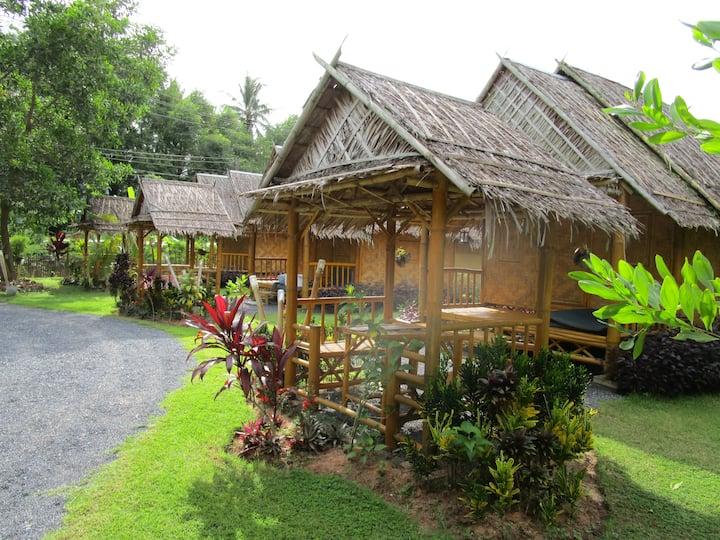 the Garden Bamboo Bungalow garden view double