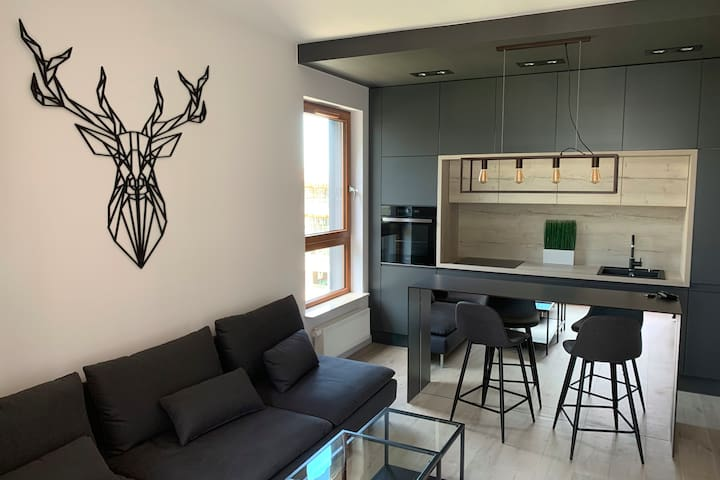 New Apartment, Holm House, Mokotow, Warsaw