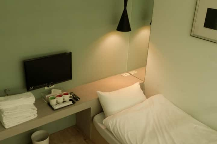 Taipei Mei Stay Hotel Single Room\Share bathroom
