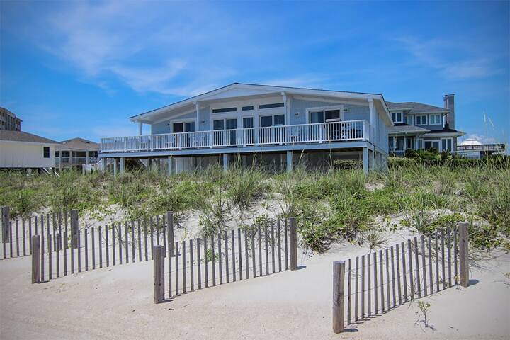 Experience the beach life with this relaxing oceanfront home.