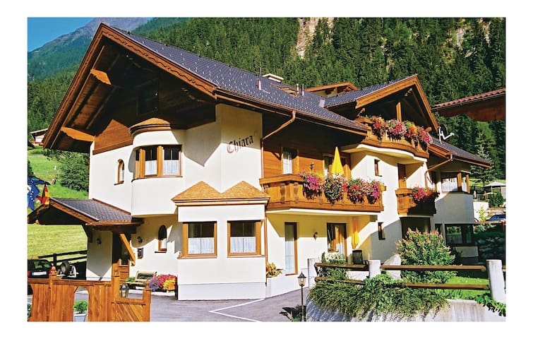 Holiday apartment with 1 bedroom on 36 m² in Neustift