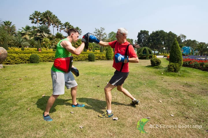 Group Fitness Bootcamp at Boutique Resort - Chiang Mai - Villa