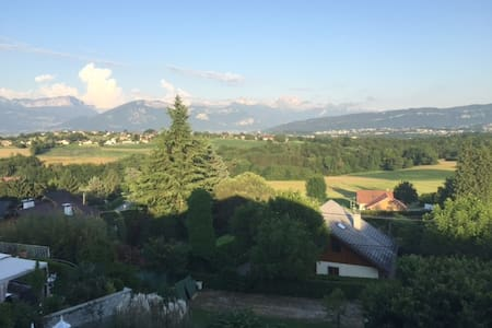SUPERBE APPARTEMENT POUR 6 PERSONNES.10 MIN ANNECY - annecy