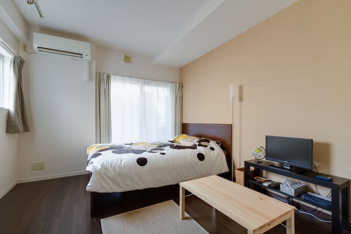 5 min to KUROMON market Great Location +pWifi #AC1 - Chuo Ward, Osaka