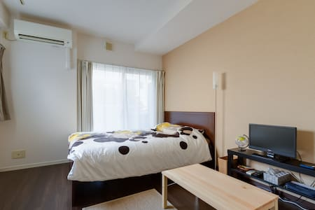5 min to KUROMON market Great Location +pWifi #AC1 - Chuo Ward, Osaka - Apartmen