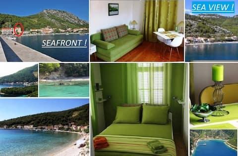 Strandpromenade - Ett soverom, fantastisk utsikt, gratis parkering