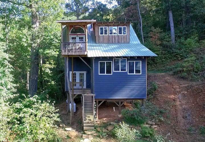 The Tree House of Asheville/Blk Mtn. w/game room