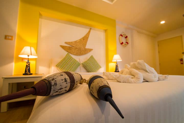 Comfort Twin Room Rooftop Pool @ Kata Beach