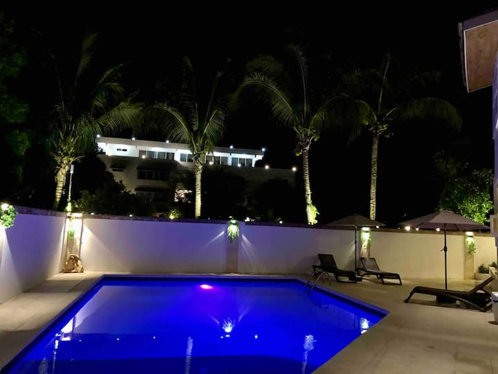 Pool view Luxury apartment 5 mins from sosua beach