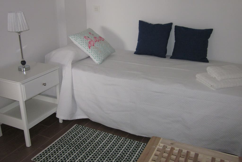 Dormitorio, bonito y confortable