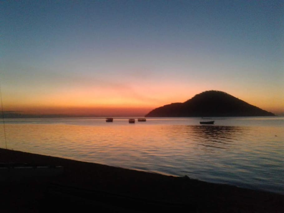 Beautiful Cape Maclear sunsets