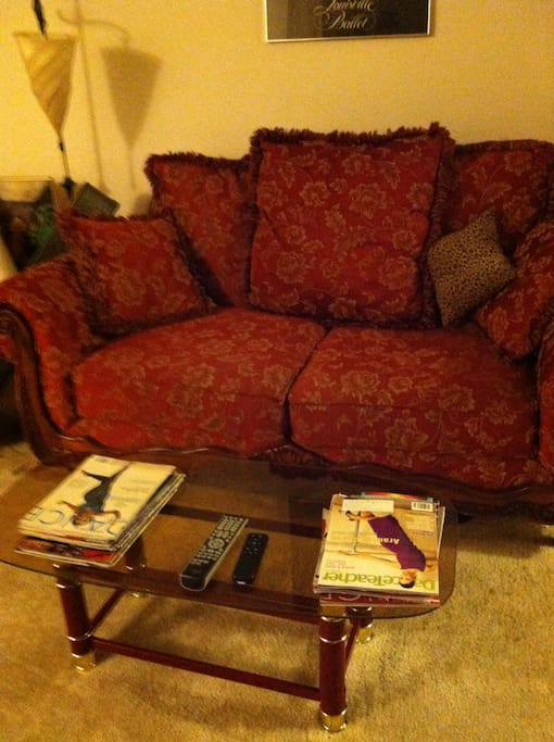 comfy cozy couch