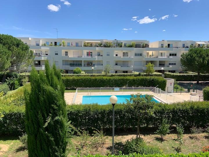 Montpellier Appartement T2 - 4 personnes
