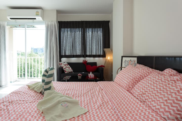 Rooms of Happiness, Bang-na,Bearing - Sukhumvit 107 - Apartment