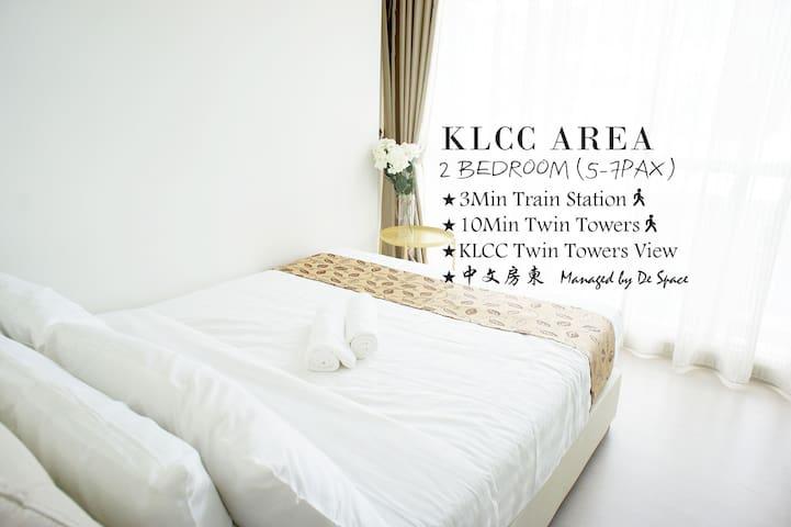 #B5 2 Bedroom Suite (5-7pax) at KLCC View