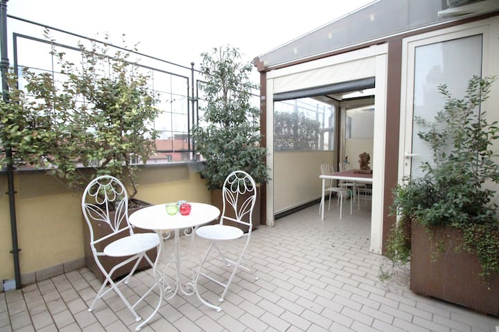 Comfy Terrace in Porta Venezia
