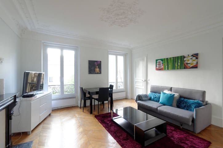 MONTMATRE-BATIGNOLLES BEAUTIFUL FLAT 2/4 PERS - Paris - Apartment