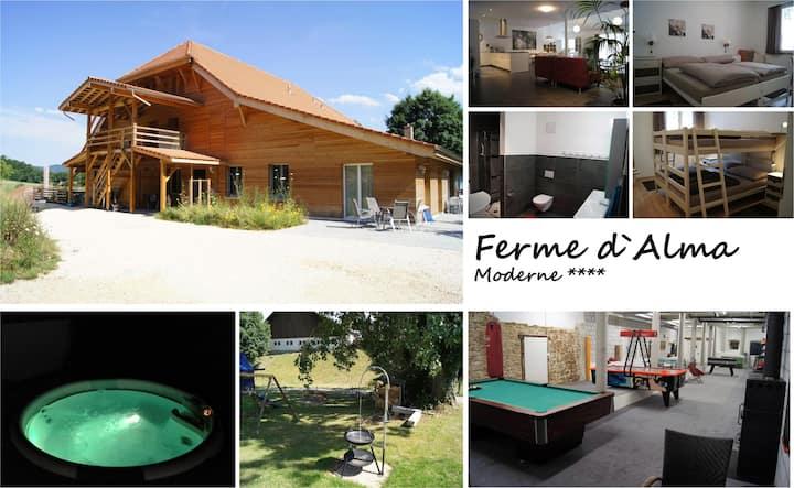 """LA FERME D`ALMA - Apartment """"Moderne"""""""