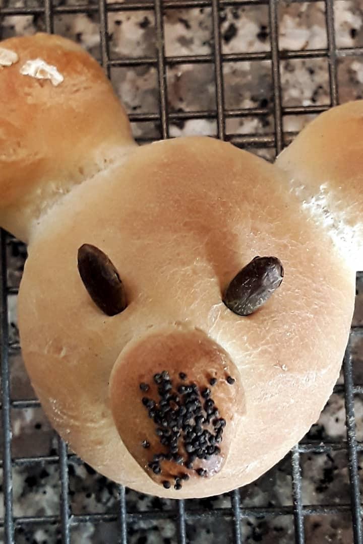 Bear Bun designed by Tilly