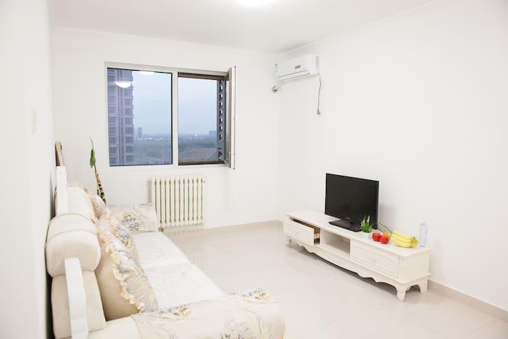 6号线十里堡 近四惠大望路国贸高端小区简约现代风两居 - Beijing - Apartment