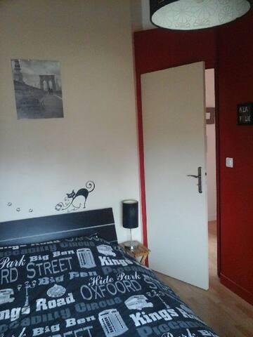 chambres chez l'habitant avec petit déjeuner - Bouguenais - Дом